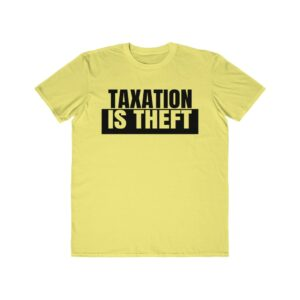 Official Taxation Is Theft Logo Shirt