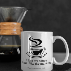 Black Market Coffee Mug