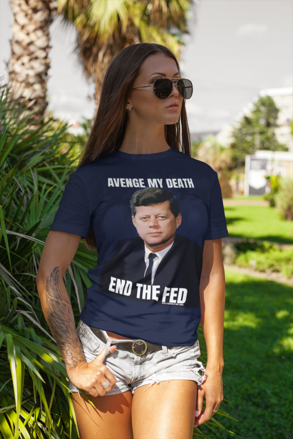 end the fed shirt woman