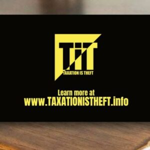 Tax Free Tip Cards (100 pack)
