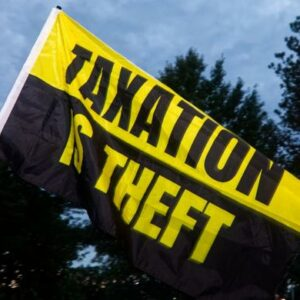 Taxation is Theft Flag