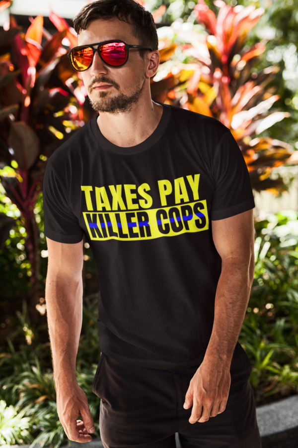 killer cops shirt man