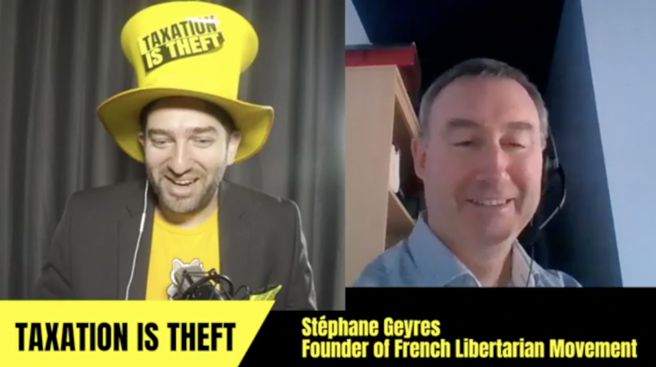 Stéphane Geyres, Founder of the French Libertarian Movement
