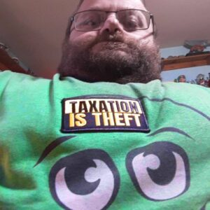 Taxation Is Theft Iron-On Patch