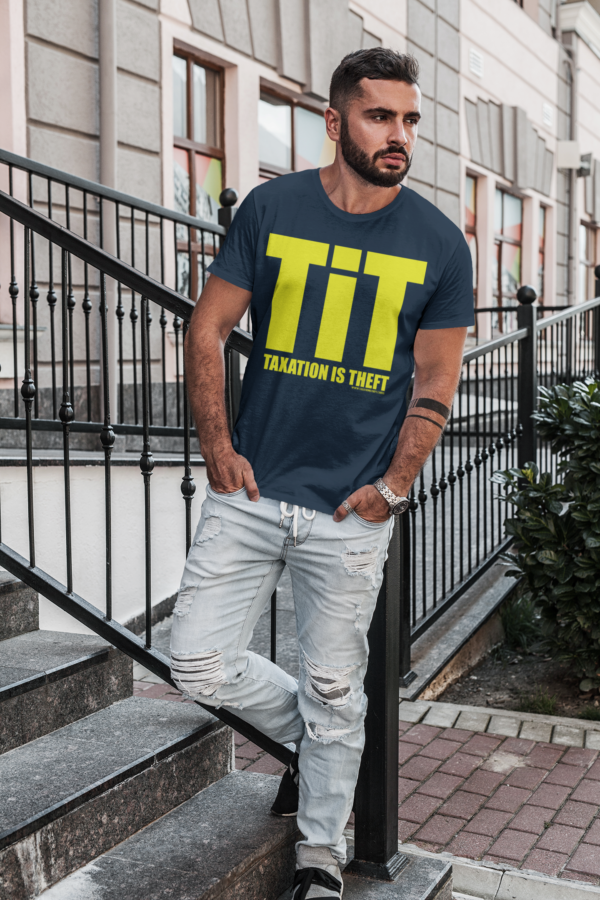 tit shirt navy man