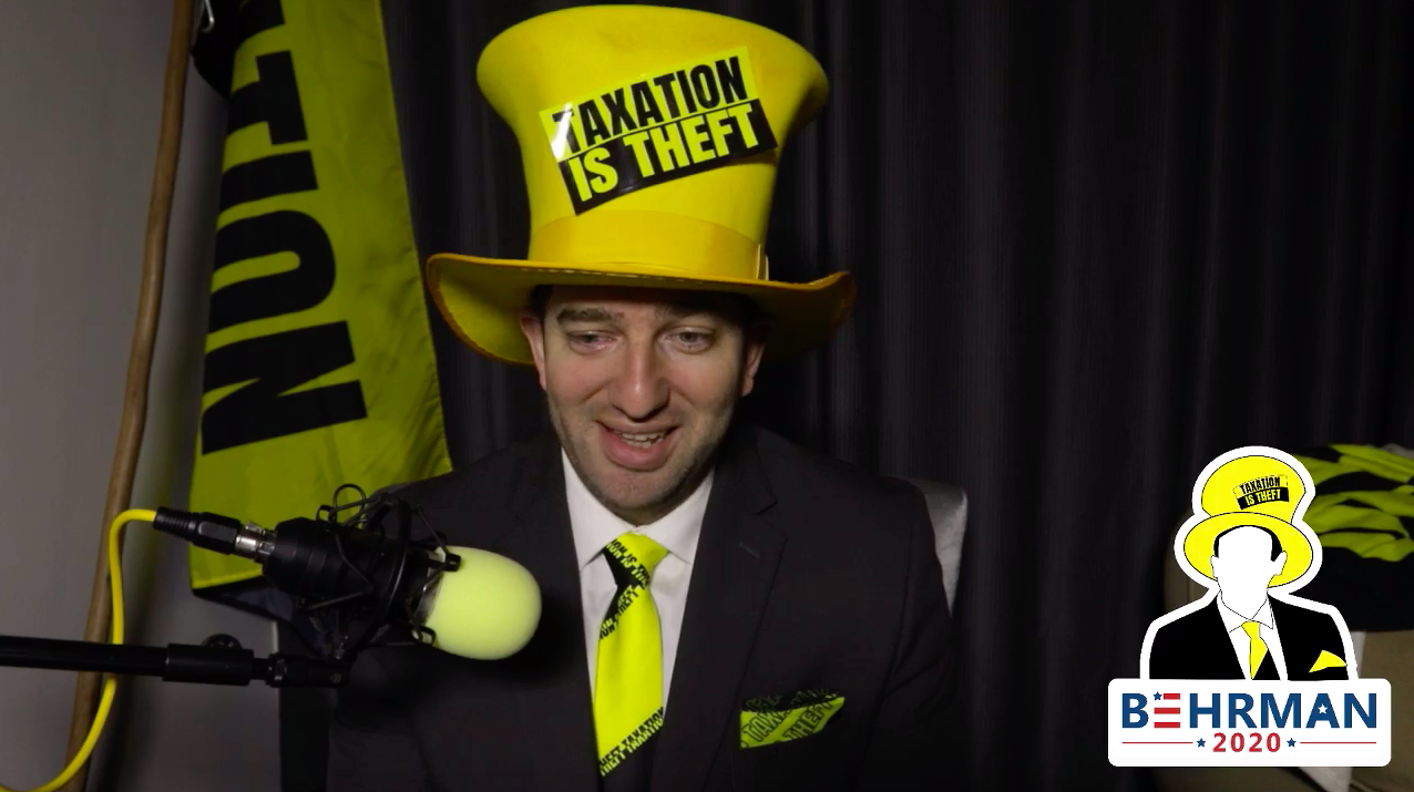 Dan Taxation Is Theft Behrman on Ask A Libertarian AMA