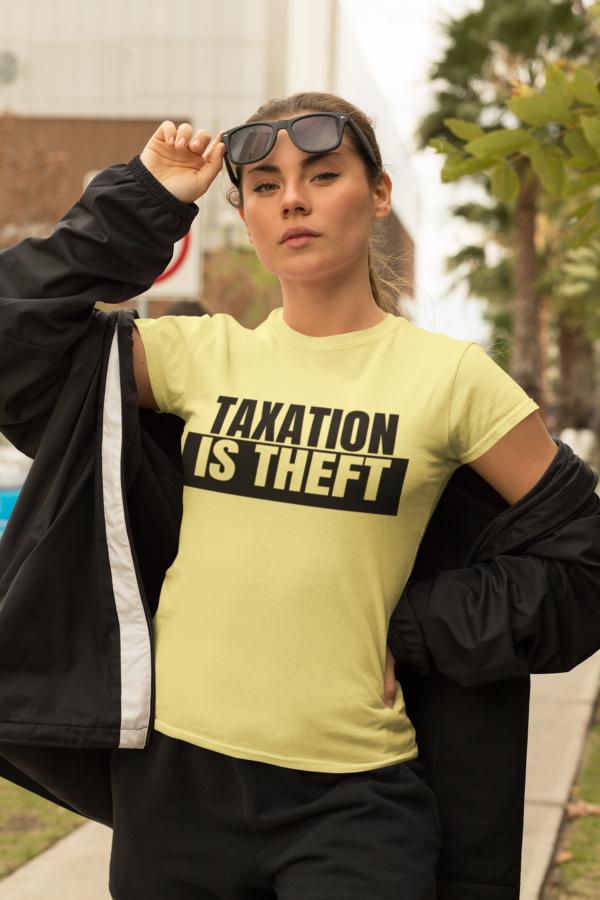 yellow tit shirt woman