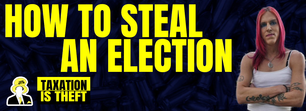 How to Steal an Election – With Aria DiMezzo, Trans Anarchist Satanist