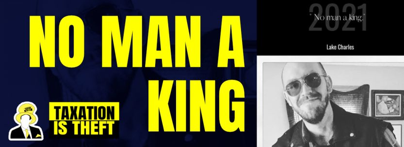 """""""No Man A King"""" – Disaster Response Nada – Future Mayor of Lake Charles Louisiana"""