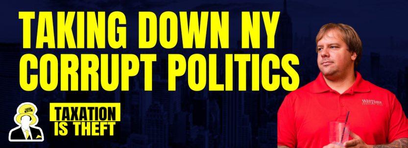 Taking down NY corrupt politics.