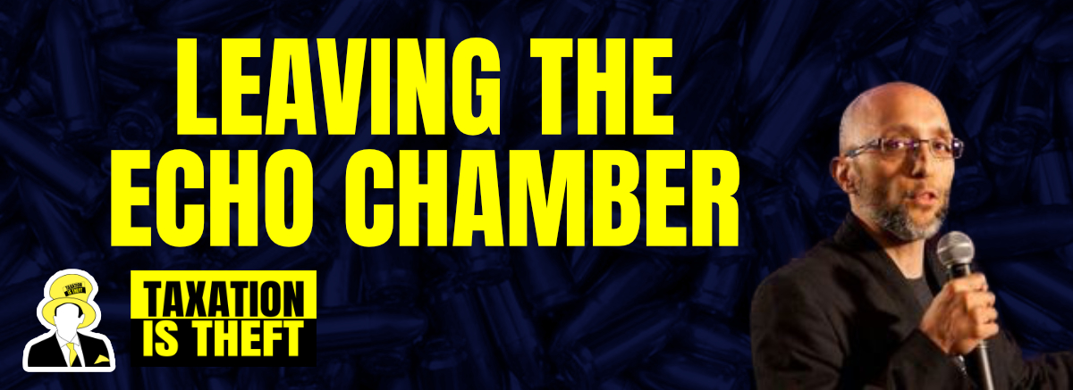leaving the echo chamber