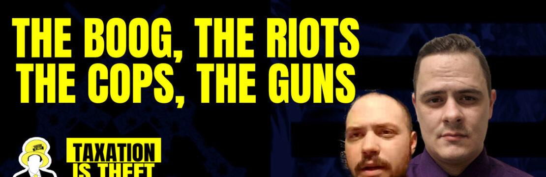 header boog riots cops guns